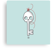 Skeleton Key Canvas Print