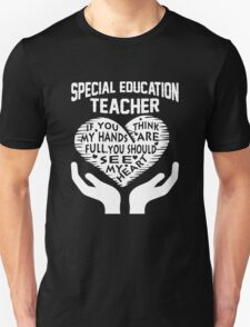 Special Education Teacher Unisex T-Shirt