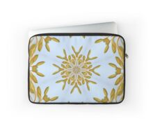 Regal Gold and Blue Laptop Sleeve