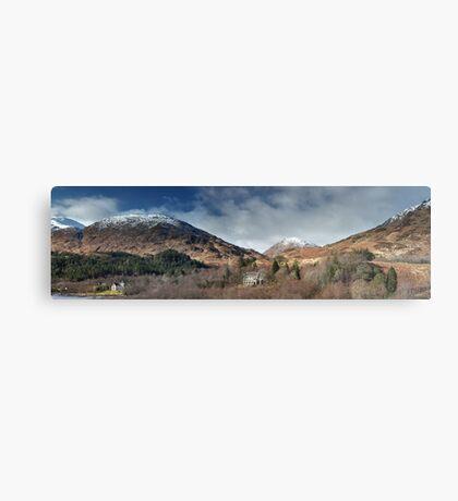 Glenfinnan Panorama Metal Print