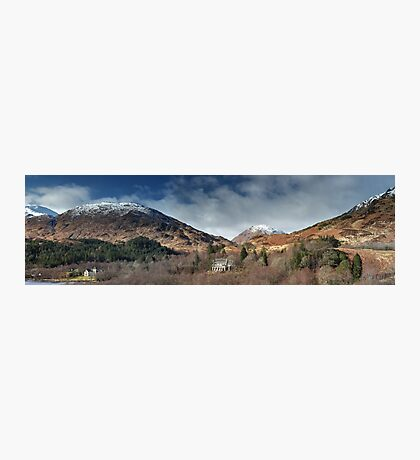 Glenfinnan Panorama Photographic Print