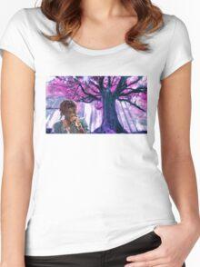 Lil Uzi Vert Artwork Women's Fitted Scoop T-Shirt