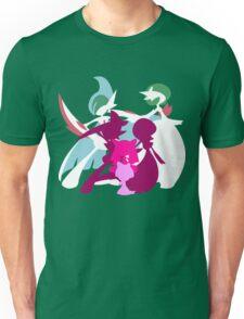 Ralts Kirlia Gardevoir Gallade Evolution Unisex T-Shirt