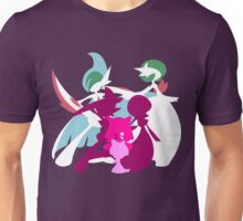 Ralts Kirlia Gardevoir Gallade Evolution Unisex T-Shirt