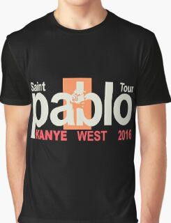 tshirt music saint pablo tour 2016 Graphic T-Shirt