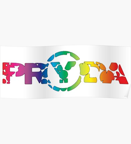 Pryda colors Poster