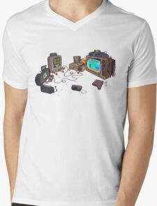 Gamers Gonna Game Mens V-Neck T-Shirt