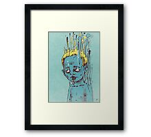 The Blue Boy with the Golden Hair Framed Print