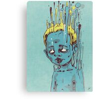 The Blue Boy with the Golden Hair Canvas Print