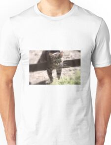 Climbing over the fence Unisex T-Shirt