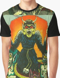 Graveyard Ghouls Graphic T-Shirt