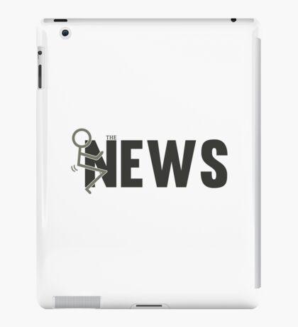 Fuck The News Funny Protest Against Mainstream Media   iPad Case/Skin
