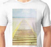 Summer beach in watercolor Unisex T-Shirt