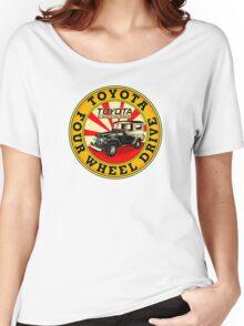 Toyota Land Cruiser Women's Relaxed Fit T-Shirt