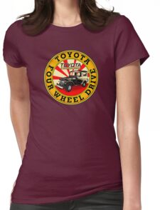 Toyota Land Cruiser Womens Fitted T-Shirt