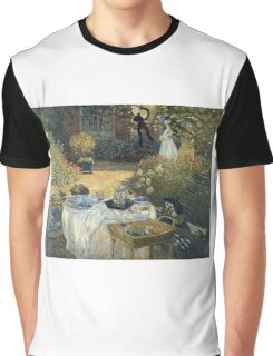 Claude Monet - The Luncheon 1 Graphic T-Shirt