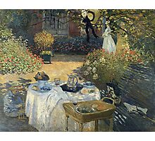 Claude Monet - The Luncheon 1 Photographic Print