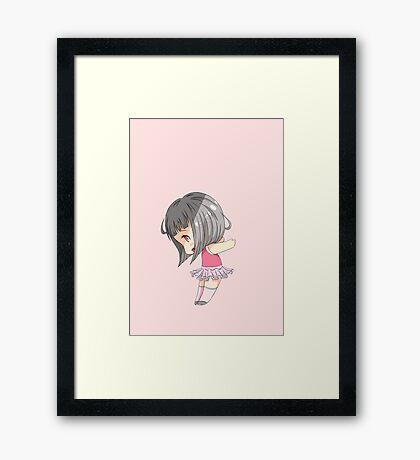 Chibi Maeko Framed Print