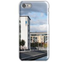 Buildings by Canal iPhone Case/Skin