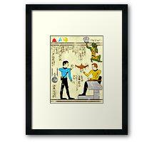 Papyrus Star Trek Framed Print