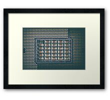 CPU Socket On Computer Motherboard Framed Print