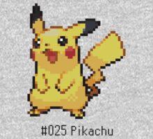 Pokedex: Pikachu (#025) Kids Clothes
