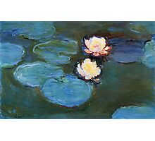 Claude Monet - Water Lilies 1899 Photographic Print