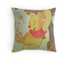 A Bear Named WINNIE Throw Pillow