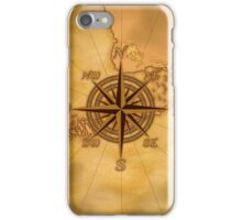 Vintage Compass Rose iPhone Case/Skin