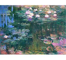 Claude Monet - Water Lilies 1917 2 Photographic Print