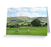 Edale Mountains Greeting Card