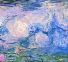 Claude Monet - Water Lilies 1919 Sticker