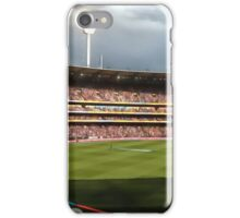 Day night cricket match iPhone Case/Skin