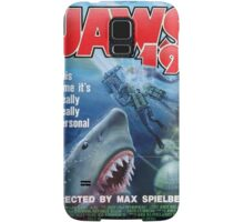 Back to the future - JAWS 19 Samsung Galaxy Case/Skin