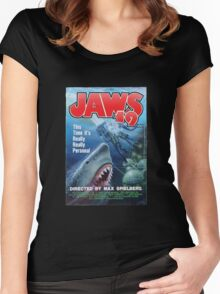 Back to the future - JAWS 19 Women's Fitted Scoop T-Shirt