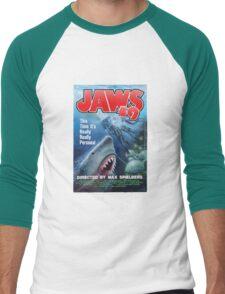 Back to the future - JAWS 19 Men's Baseball ¾ T-Shirt