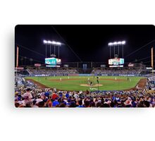 at the game Canvas Print