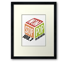 Non Stop Pop  Framed Print