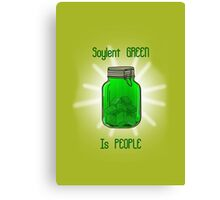 Soylent Green is People! Canvas Print