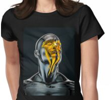 Love is the Only Gold Womens Fitted T-Shirt