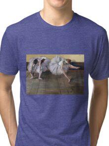 Edgar Degas - Dancers Backstage Tri-blend T-Shirt