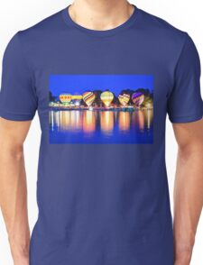 hot air balloon glow Unisex T-Shirt