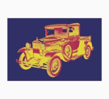 1930 Model A Ford Pickup Truck Pop Art Kids Clothes