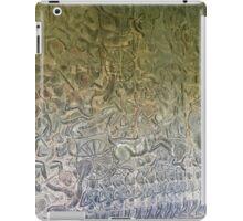 Cambodia - Siem Reap - Angkor - battle on the wall iPad Case/Skin