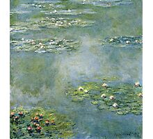 Claude Monet - Water Lilies 21 Photographic Print