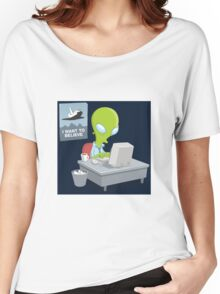 I Want to Believe, X Files Women's Relaxed Fit T-Shirt