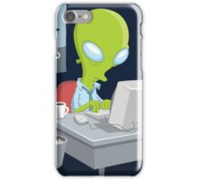 I Want to Believe, X Files iPhone Case/Skin