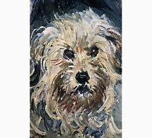 Claude Monet - Detail Of Yorkshire Terrier From Eugenie Graff (Madame Paul) 1881  Unisex T-Shirt