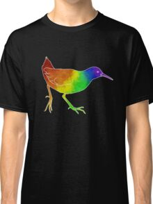 Rainbow Rallidae Classic T-Shirt