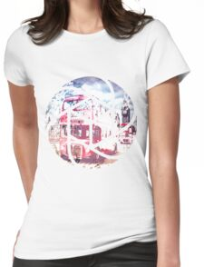 TRENDY DESIGN London Red Buses  Womens Fitted T-Shirt